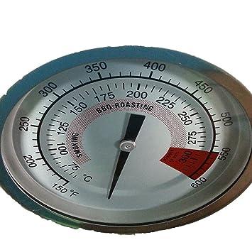Yukun Termómetro de cocina Horno de humo Horno Caja eléctrica Estufa de baloncesto Horno de microondas Estufa de barbacoa Termómetro.: Amazon.es: Hogar