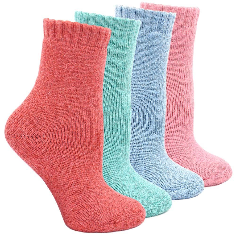 Calzini Termici Donna Calze Inverno Caldo Morbido, Calzini invernali da Donna, 4 Paia PUA86009-A-MX-4 pack