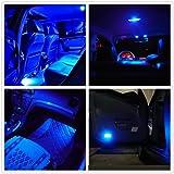 WLJH 6 Pack T10 Wedge 12V LED Bulbs 168 2825 194