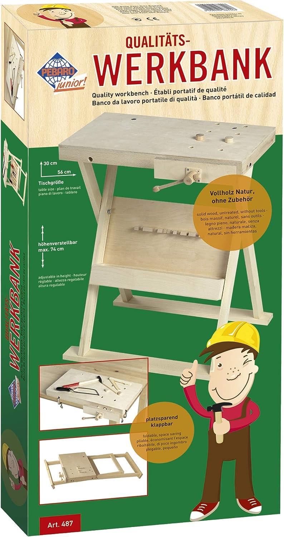 Pebaro 487 Klappbare Werkbank Fur Kinder Hohenverstellbar Amazon De Spielzeug