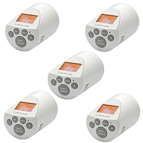 A Risparmio Energetico Termostato Per Radiatore PH60   Set Di 5 Termosifone