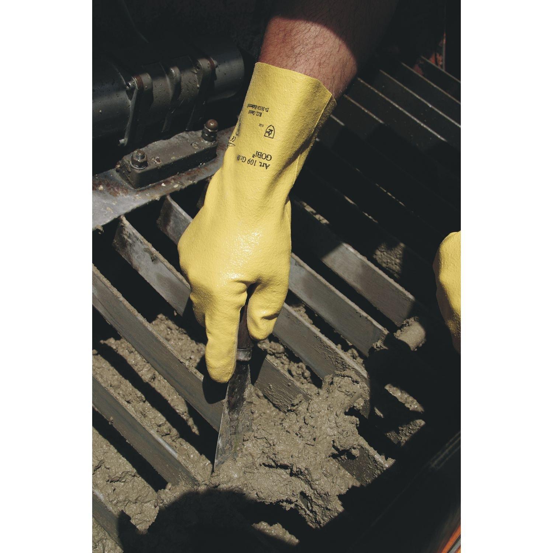 KCL Schutzhandschuh Gobi 109 Gr.8 EN388 Kategorie II Material Nitril//BW