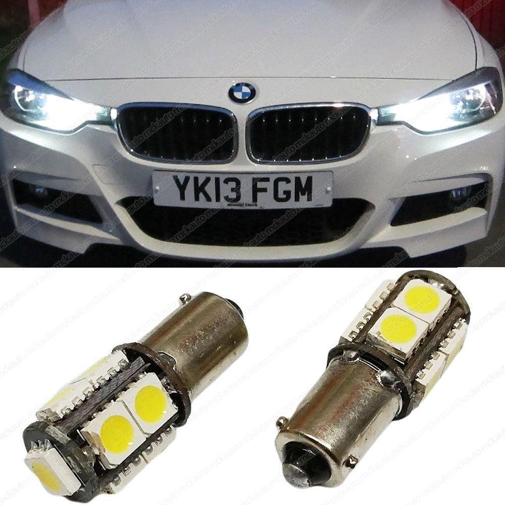 CANBUS H6W Parking Sidelight LED Bulbs Set Kit Xenon BAX9S EA7R3 MCK Auto