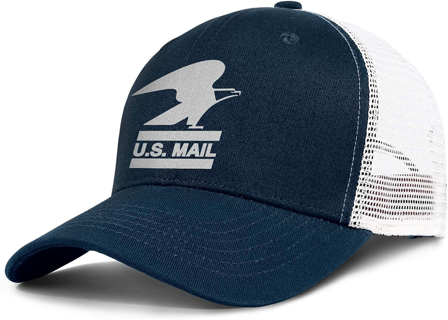 uter ewjrt Adjustable White-United-States-Postal-Service-USPS-Logo- Baseball Hats Cool Best Caps