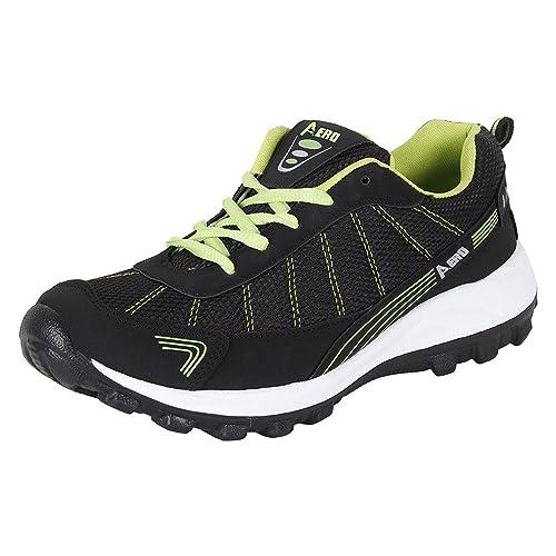 849f7838292d1a AMG Aero Performance Men Running Shoes (BLACK