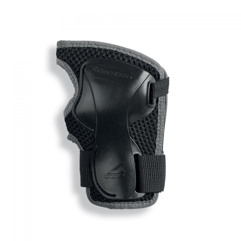 Rollerblade X-Gear Wristguard Black M & Headband Bundle