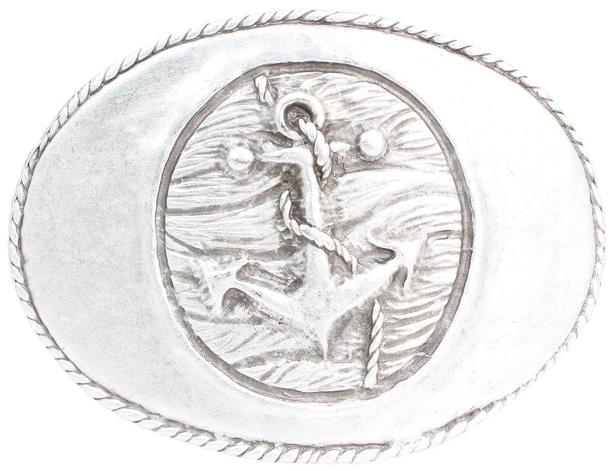 Brazil Lederwaren G/ürtelschlie/ße Hufeisen 4,0 cm