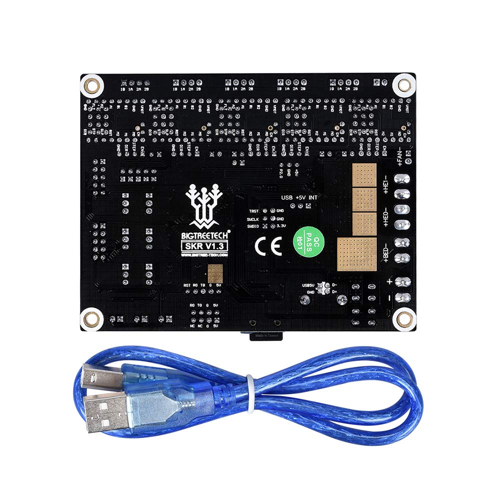 1 PoPprint SKR V1.3 32-bit ARM controller board with open source firmware Marlin2.0 and smoothieware Use the technology of gold capture technology TMC2130 TMC2208 DRV8825 A4988 3D printer driver
