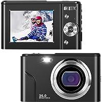 IEBRT Ultra HD Digital Camera,1080P Mini Kid Camera Vlogging Camera Video Camera LCD Screen 16X Digital Zoom 36MP…