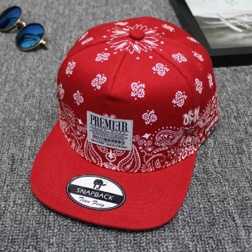 zhuzhuwen Anacardo Flor Letra Pegatinas Hip Hop Hat Hombres y ...