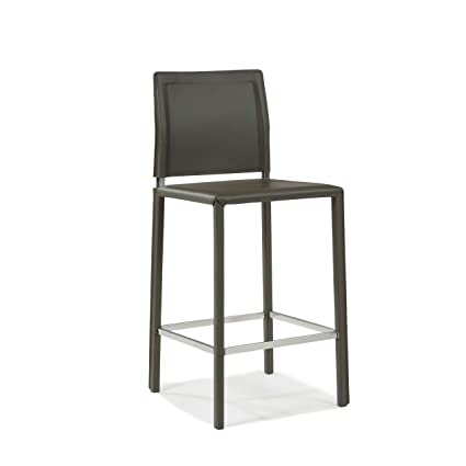 Groovy Moes Home Collection Stossa Counter Barstool Charcoal Theyellowbook Wood Chair Design Ideas Theyellowbookinfo