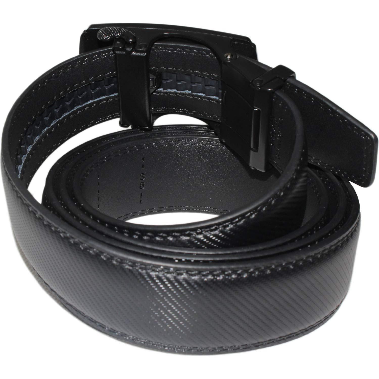 Moda Cintura a Cricchetto 3.5cm Cintura Da Uomo in Pelle Con Fibbia Automatica Cintura Uomo Pelle Cinture Da Cinta 130cm