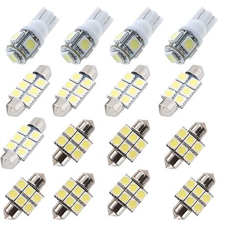 Para Hyundai Santa Fe LED Interior luces LED para interior ...