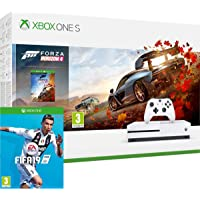 Xbox One S 1TB Gaming Console with Forza Horizon 4 game Plus Hard copy of FIFA 19