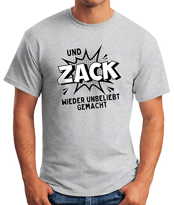 Und Zack wieder unbeliebt gemacht I Fun I Lustig I Sprüche I Girlie Shirt