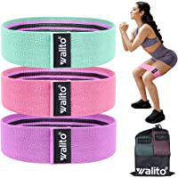 Walito Resistance Bands for Legs and Butt - Exercise Bands Set Booty Hip Bands Wide Workout Bands Sports Fitness Bands…