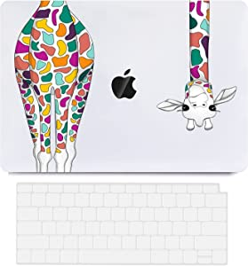MacBook Air 13 Inch Case 2020 2021 2019 2018 Release A2337 M1 A2179 A1932, Frosted MacBook Air Case Laptop Hard Shell Case Cover & Keyboard Cover Compatible for Apple MacBook Air with Retina Touch ID