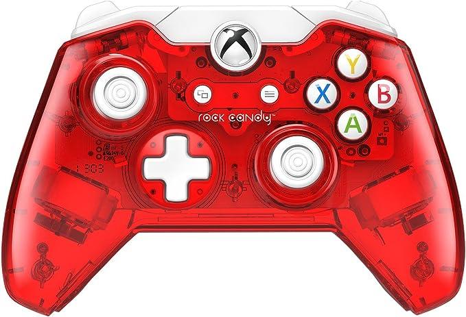 PDP - Mando Rock Candy Licenciado, Color Rojo (Xbox One): Amazon ...