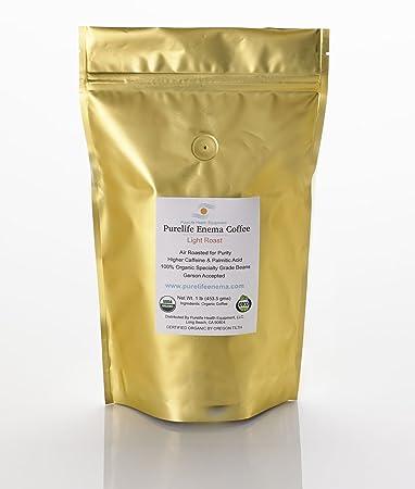 Purelife Organic Enema Coffee- 2 LBS Light