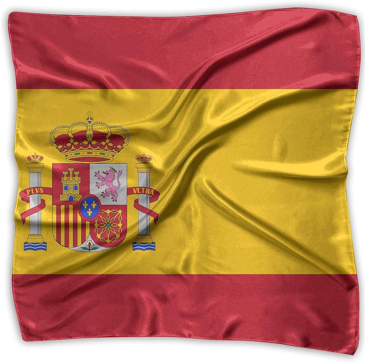 Hipiyoled Pa/ñuelos Bufanda Bandera de Espa/ña Novedad Chal Bandanas Multifunci/ón Regalos de fiesta