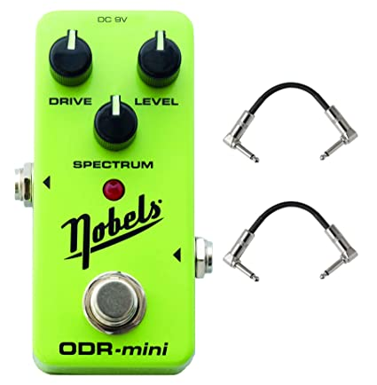 Nobels ODR-Mini Lightweight and Compact True bypass Overdrive Guitar  Effects Pedal with SPECTRUM Control and