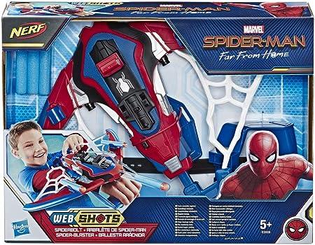 Lanzadardos inspirado en el hombre araña - peter parker es un adolescente inventivo con habilidades