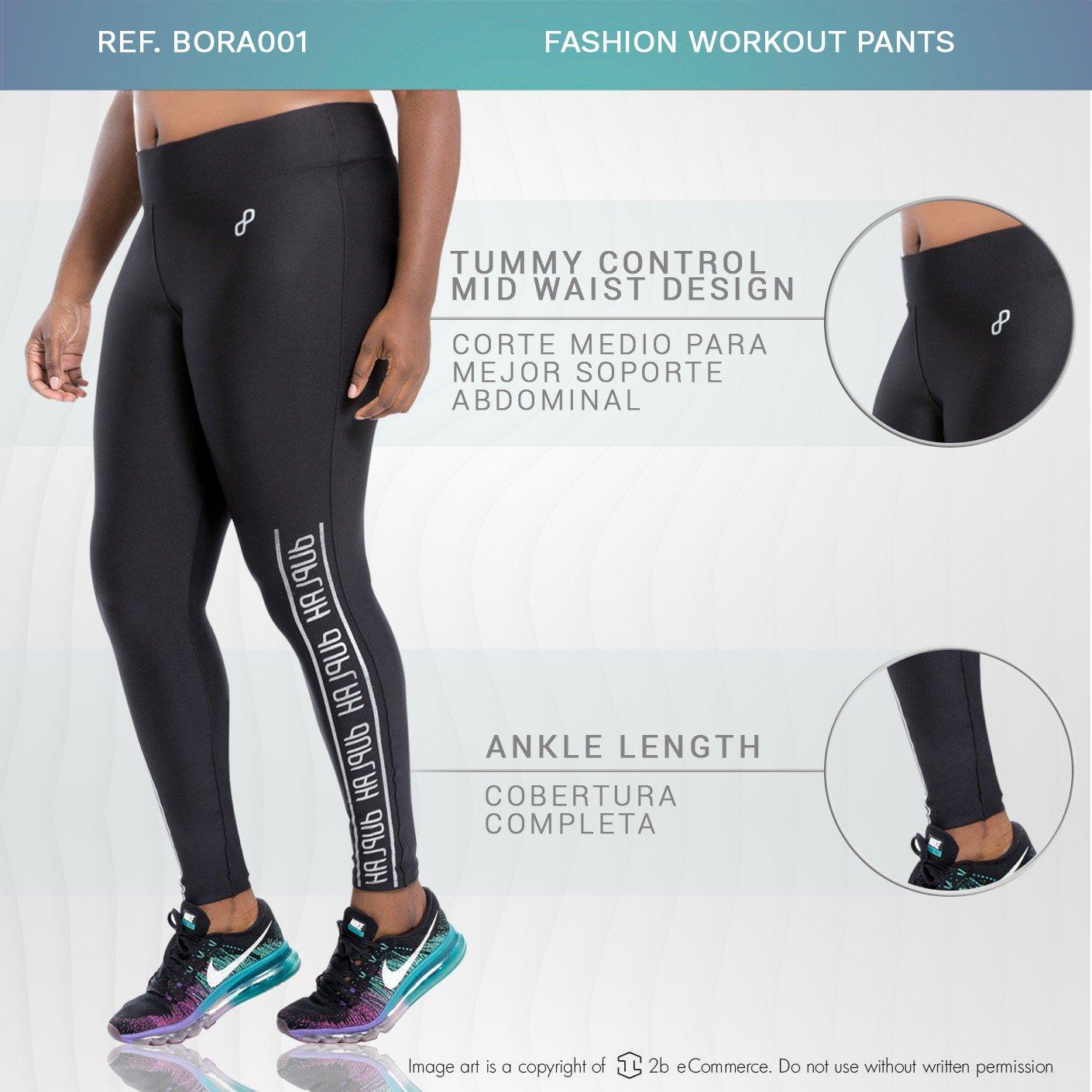 42f0eb6c8ba20 Duplah Bora Bora Womens Fashion Workout Pants Plus Size Leggings Ropa  Deportiva at Amazon Women's Clothing store: