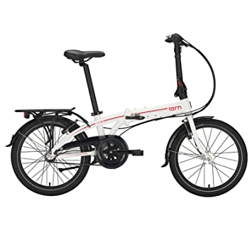 "tern Link C3i - Bicicletas plegables - 20"" rojo/blanco 2016"
