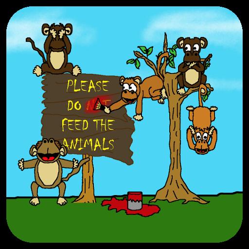 Shonda's Monkey Mayhem - Com Signet