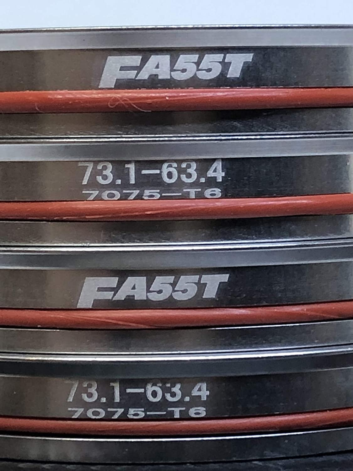 FA55T Hub Centric Rings 73.1mm to 63.4mm OEM or Aftermarket Wheels Import Domestic