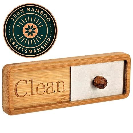 Amazon.com: TEYGA - Imán de bambú para lavaplatos, con ...