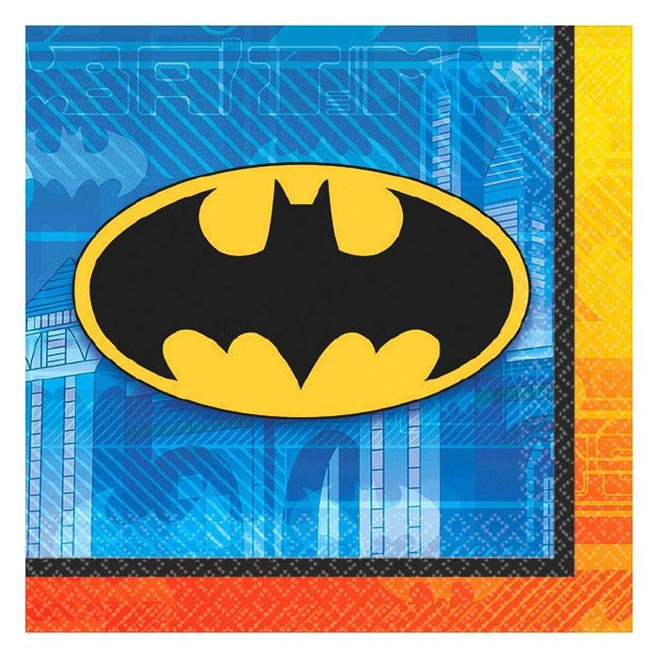 Batman Beverage Napkins (16) バットマン飲料ナプキン(16)ハロウィンクリスマス B00KYAL40Q