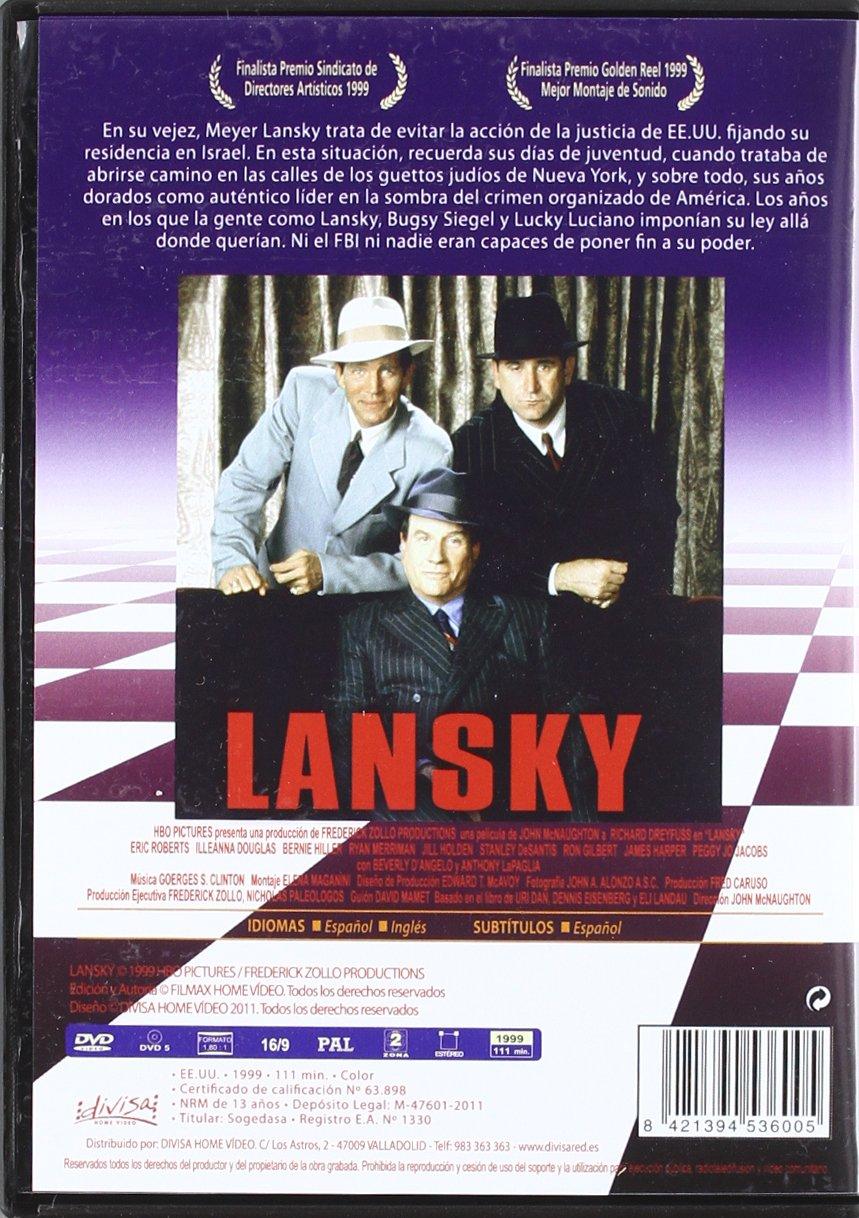 Lansky [DVD]: Amazon.es: Richard Dreyfuss, Illeana Douglas ...