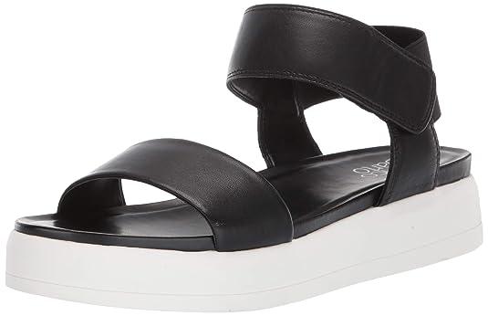 Franco Sarto Women's KANA Sandal, Black, 7.5 M US