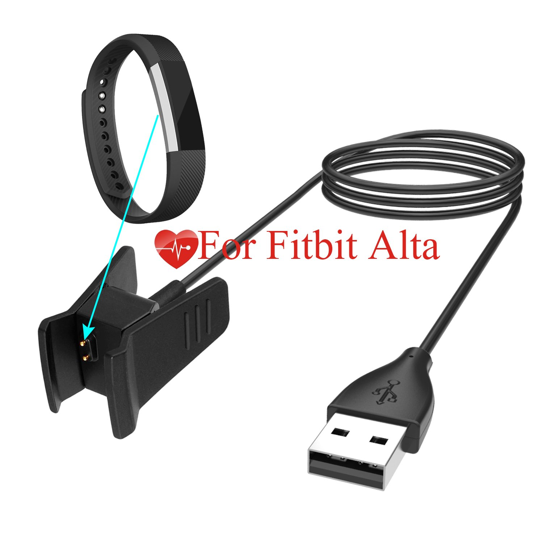 Kingacc Cargador para Fitbit Alta, Cable de Cargador Compatible ...