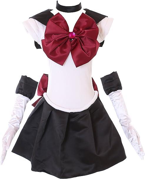 Kawaii-Story H de 6007 Sailor Moon Black White Pluto Disfraz ...