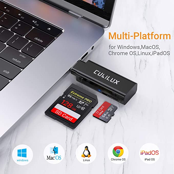 PRO USB 3.0 Card Reader Works for Samsung Galaxy SM-G9600 Adapter to Directly Read at 5Gbps Your MicroSDHC MicroSDXC Cards