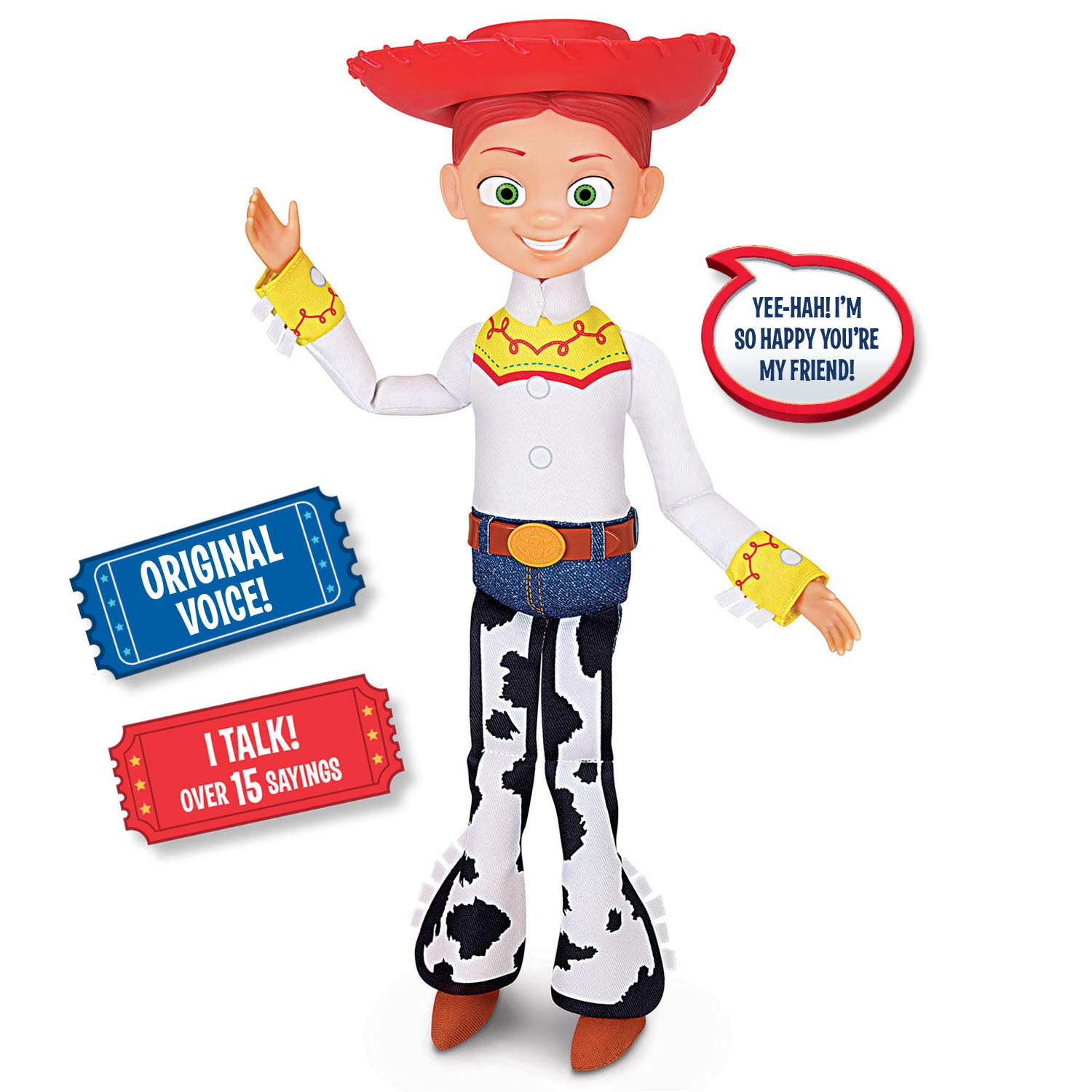 Toy Story Disney Pixar 4 Jessie Cowgirl Action Figure