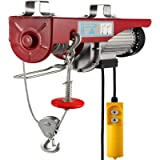 Happybuy 1320 LBS Lift Electric Hoist, 110V Electric Hoist, Remote Control Electric Winch Overhead Crane Lift Electric…