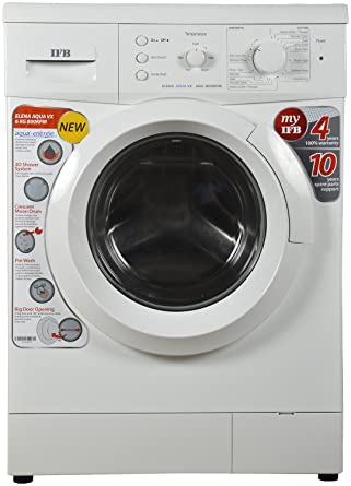 IFB 6 kg Fully-Automatic Front Loading Washing Machine (Elena Aqua VX, White)