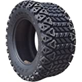 Arisun 23 x 10.5-12 DOT All-Terrain Tire for Golf Carts & ATV's (6 Ply Rating) -- 1, set of 2 or 4 (23 x 10.5-12, 1…