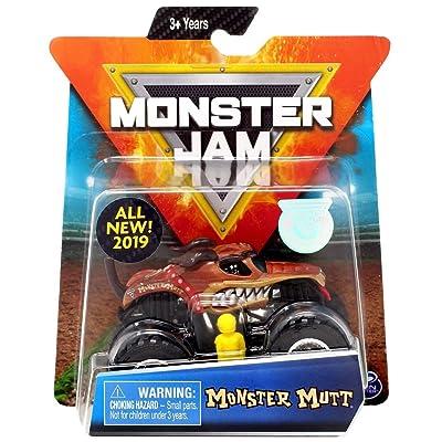 Toysmith 1:64 Monster Jam Truck - Monster Mutt: Toys & Games