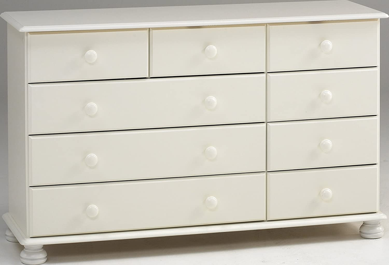 Steens Richmond 2/3/4 Drawer Chest of Drawers, White - Steens Richmond Ottoman Storage Chest, White: Amazon.co.uk