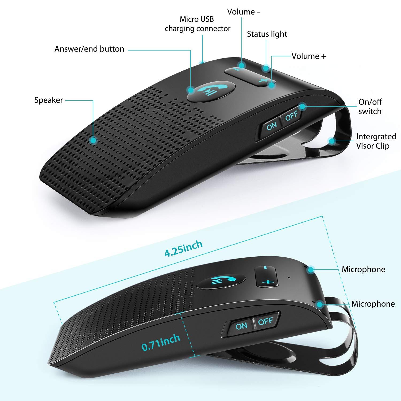 Bluetooth Auto Vivavoce Car Kit