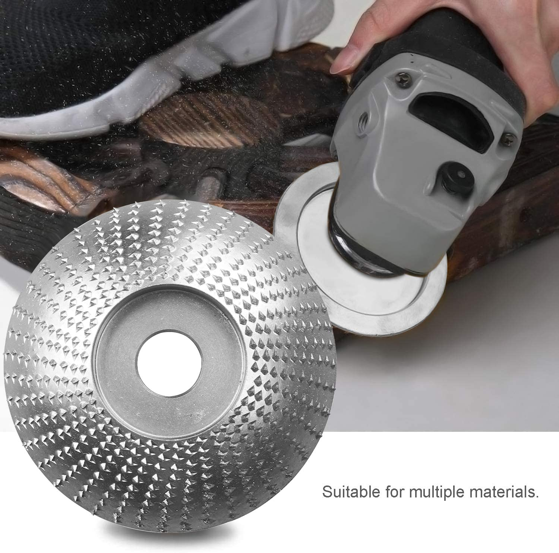 Mole Abrasive per Smerigliatrice Angolare Tungsteno Rotante Carving Disco Legno Abrasivo Mola Utensili per Lucidatura,85MM//100MM