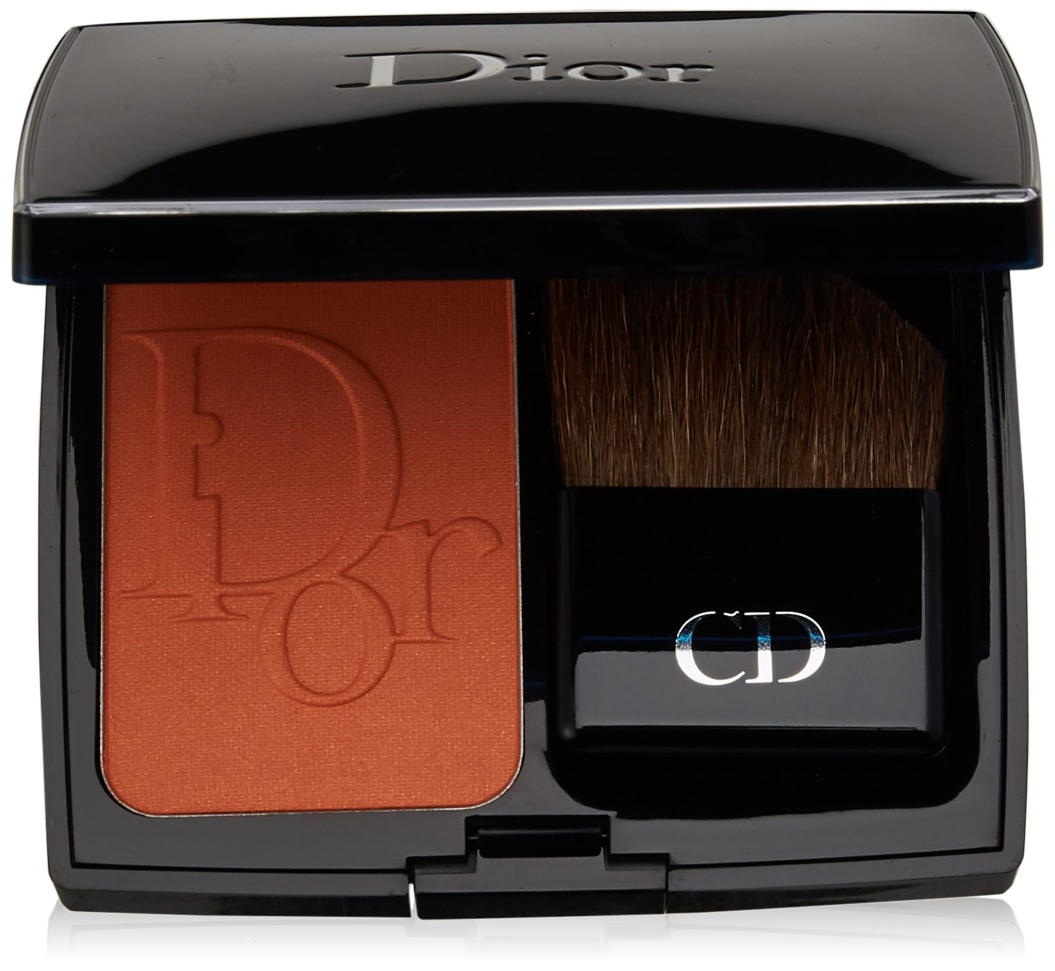 Christian Dior Vibrant Color Powder Blush for Women, No. 581 Dazzling Sun, 0.24 Ounce