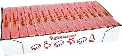 Jovi Caja de plastilina, 15 Pastillas 150 g, Color Rosa (7107): Amazon.es: Juguetes y juegos