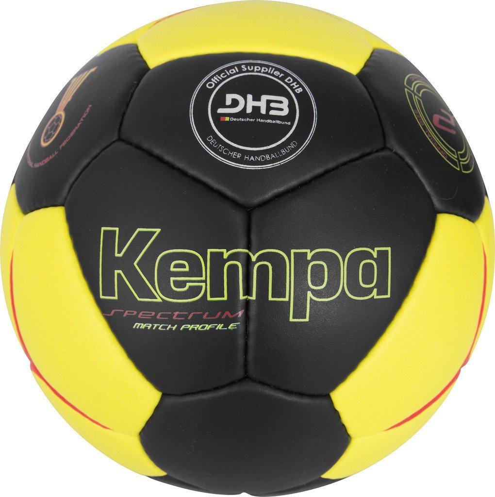 Kempa Bola Spectrum DHB, Todo el año, Color Negro - Schwarz/Gelb ...