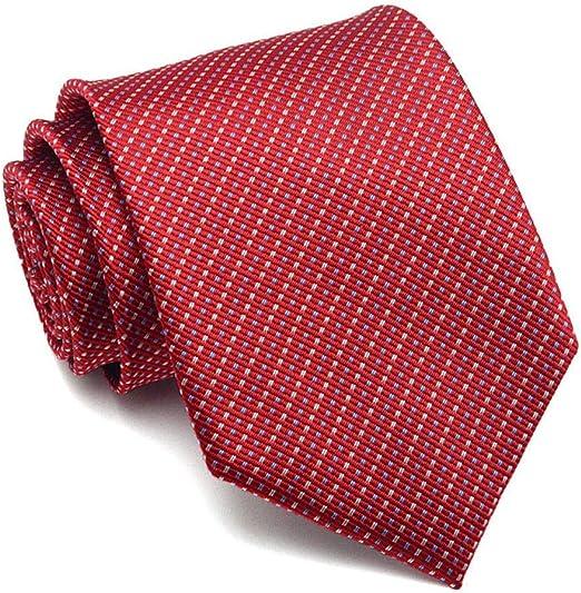 QEHWS Corbata Corbata Ancho para Hombres Traje Formal Corbatas ...