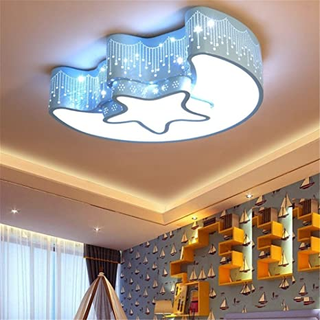 Cute Cartoon Starfish Led Ceiling Lamp Children Room Ceiling Light Creative Acrylic Ceiling Lamp For Bedroom Baby Room Lighting Ceiling Lights